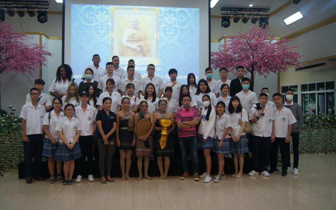 กิจกรรมเพื่อสังคมโดยนักเรียนเกรด12 ณ วัดพระบาทน้ำพุ จ. ลพบุรี วันที่ 26 สิงหาคม 2560