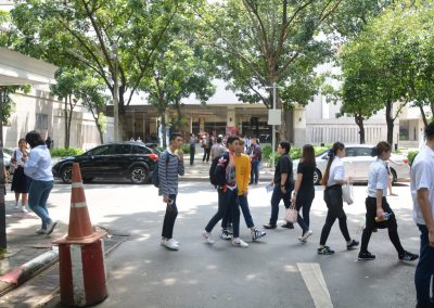 Seniors' University Visit @Chulalongkorn University On September 22 ,2017