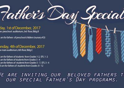 Invitation to Fathers