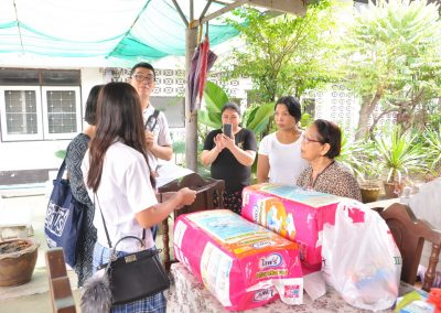 Community Service Club visited Reunkaew Nursing Home