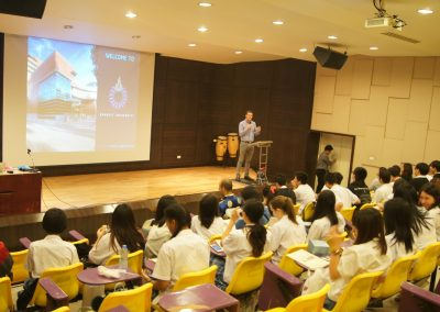 Juniors' University Visit @ Rangsit University On January 22, 2018