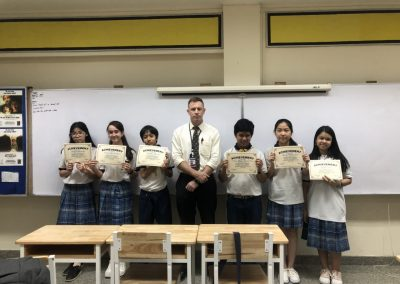 achievement certificates for middle school2018-1