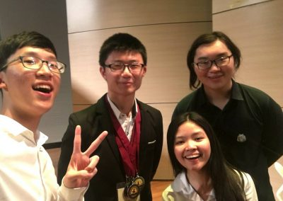 Seniors Qualify for World Scholar's Cup Global Rounds