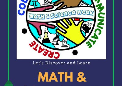 Math and Science Week April 30 – May 4, 2018