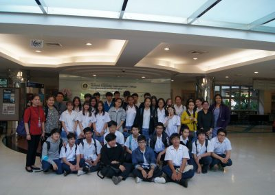 Grade 11 Students at Mahidol University on April 18, 2018