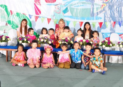 Preschool Songkran Program on April 10, 2018