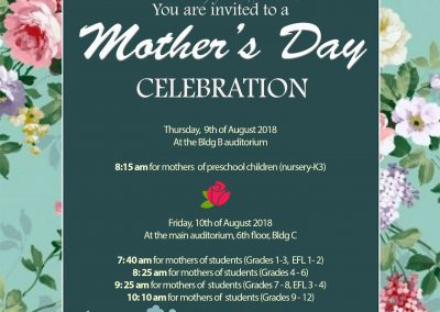 Mother's Day Program