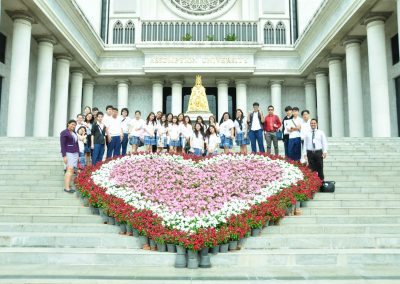 Seniors' University Visit @Assumption University on August 20, 2018