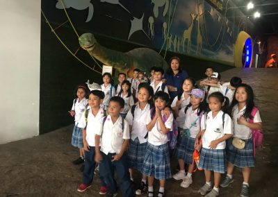Field Trip for Grades 1-2, EFL on October 16, 2018