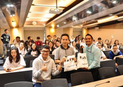 Seniors' University Visit @Chulalongkorn University on October 22, 2018