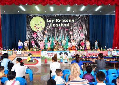 PS Loy Krathong Program  on November 21, 2018