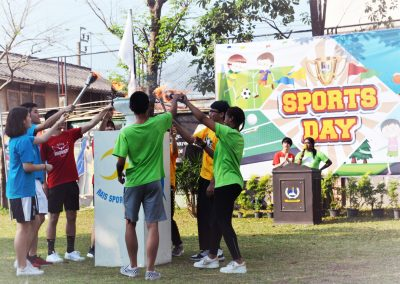 Sports Day on February 22, 2019