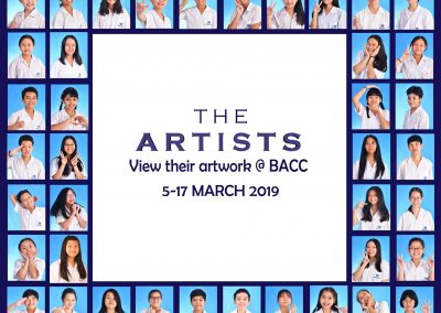 Student Artwork on Display at Bangkok Art and Culture Centre (BACC), from March 5-17, 2019