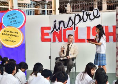 English Literacy Week on March 18-22, 2019