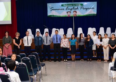 Summer English Program Orientation on March 11, 2019