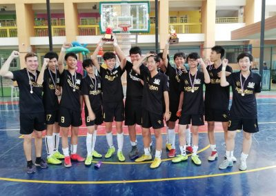 RAIS U15 Boys Futsal Team Won the ISAA Championship Trophy