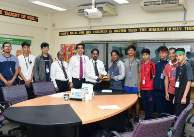 Students from Premier International School in Nepal visit RAIS