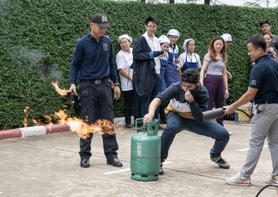 Fire Drill & Fire Safety Demonstration