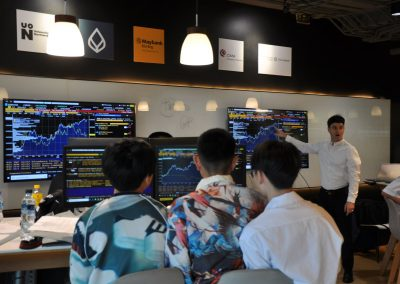 Business Class Students attended Bloomberg Financial Market Workshop at Stamford University