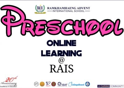 Preschool Online Learning @ RAIS