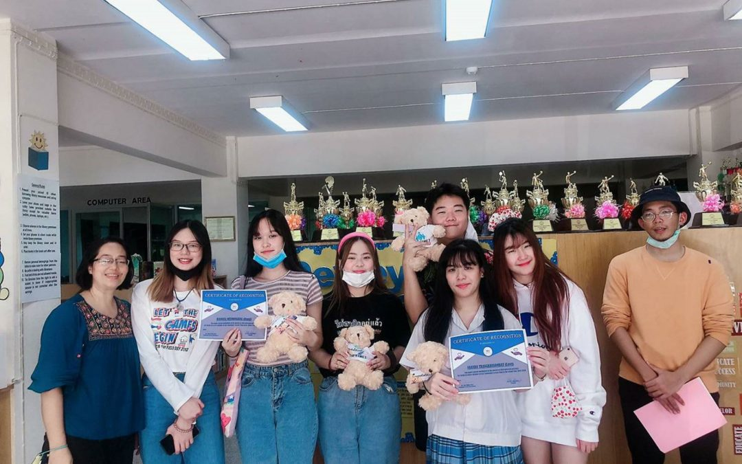 Community Service Club recognition to Graduating Members