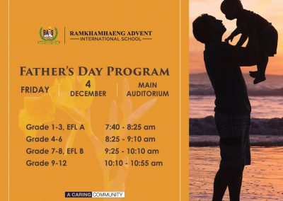 Father's Day Program 2020