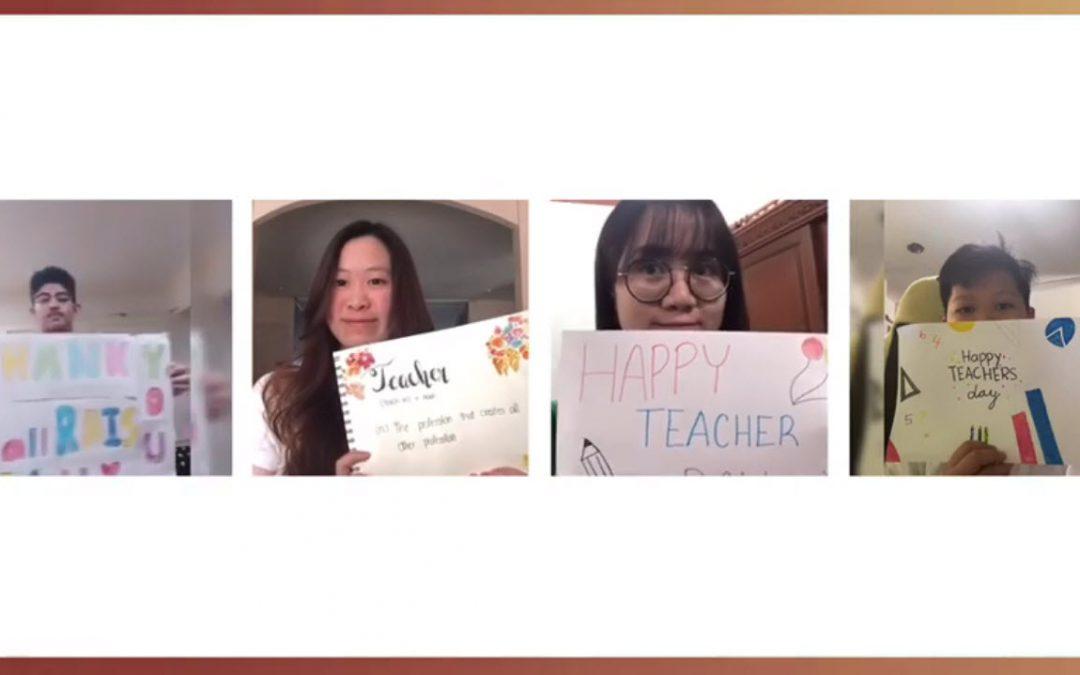 Teachers' and Staff Appreciation Day. January 20, 2021