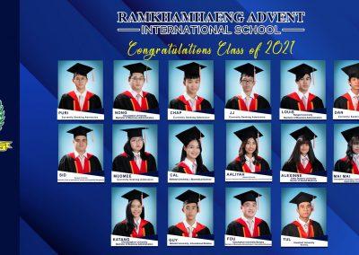 Congratulations class of 2021!