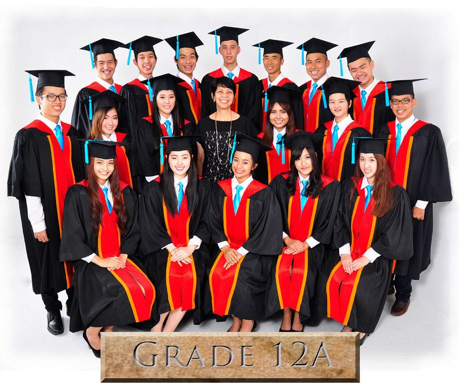 Alumni School Year 2013-2014 Grade12A